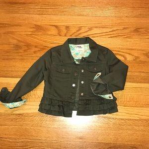 Beautiful girls Oshkosh jeans jacket 🧥